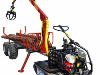 Järnhäst Flex Skog Kranman timmervagn skogsvagn motorvinsch griplastarvagn timmergrip