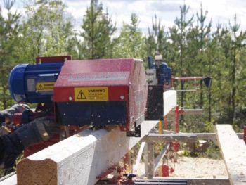 Timmerfräs bamsefräsen timmerhyvel loghousemoulder sågverk