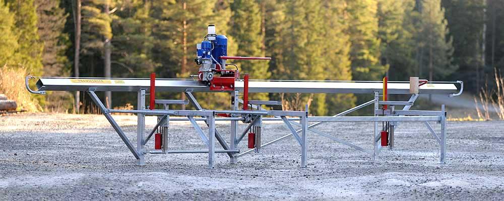 7meter Sågbänk Bamsesågen Sågverk utan logo